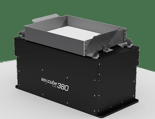 15 to 60 mm alimentación de piezas de alto rendimiento asyril asycube 380