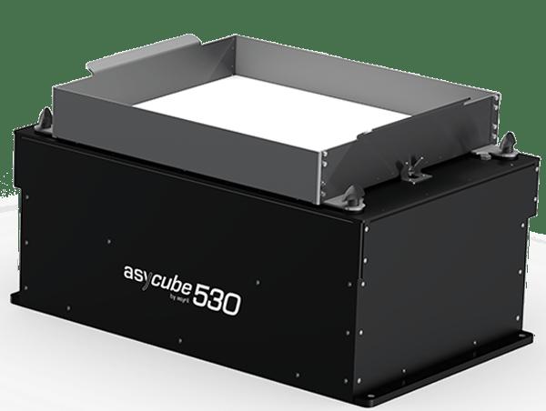 30 to 150 mm alimentación de piezas de alto rendimiento asyril asycube 530