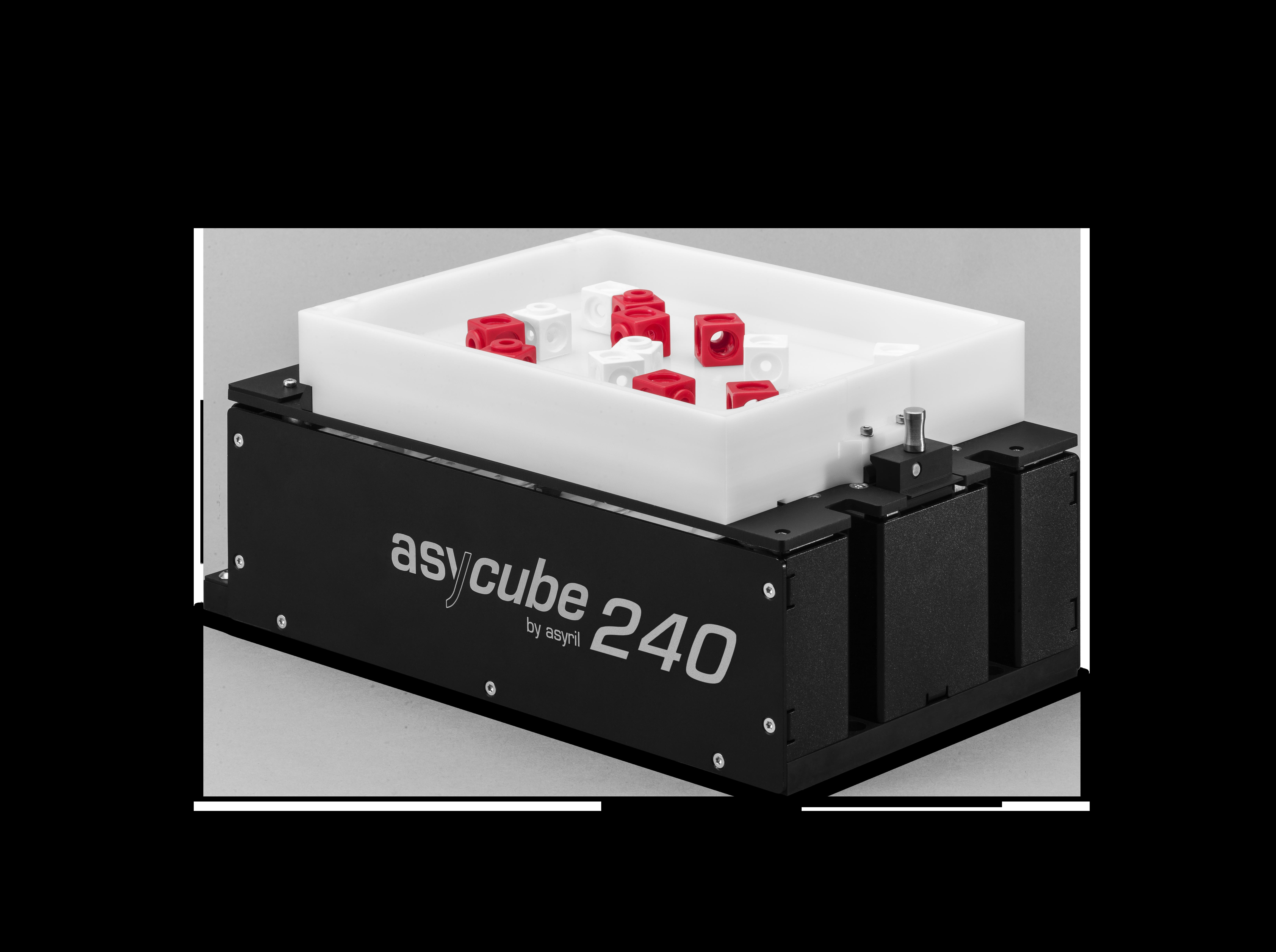 5 to 40 mm alimentación de piezas de alto rendimiento asyril asycube 240