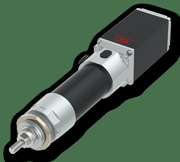 EleCylinder cilindros eléctricos con protección frente a polvo/salpicaduras de 2 posiciones