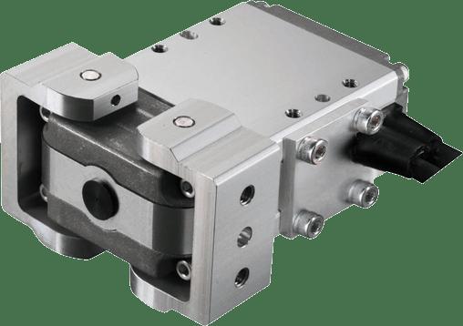 Pinzas eléctricas angulares de 2 garras para sala blanca RCP2