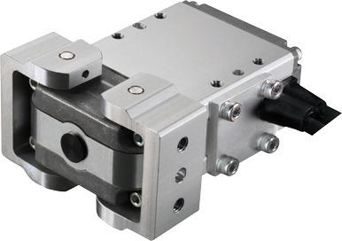 Pinzas eléctricas angulares de 2 garras con protección frente a polvo RCP2