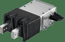 Pinzas eléctricas paralelas de 2 garras con protección frente a polvo