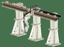 Servo tracks lineales