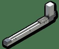 Actuadores eléctricos sin vástago con transmisión a correa