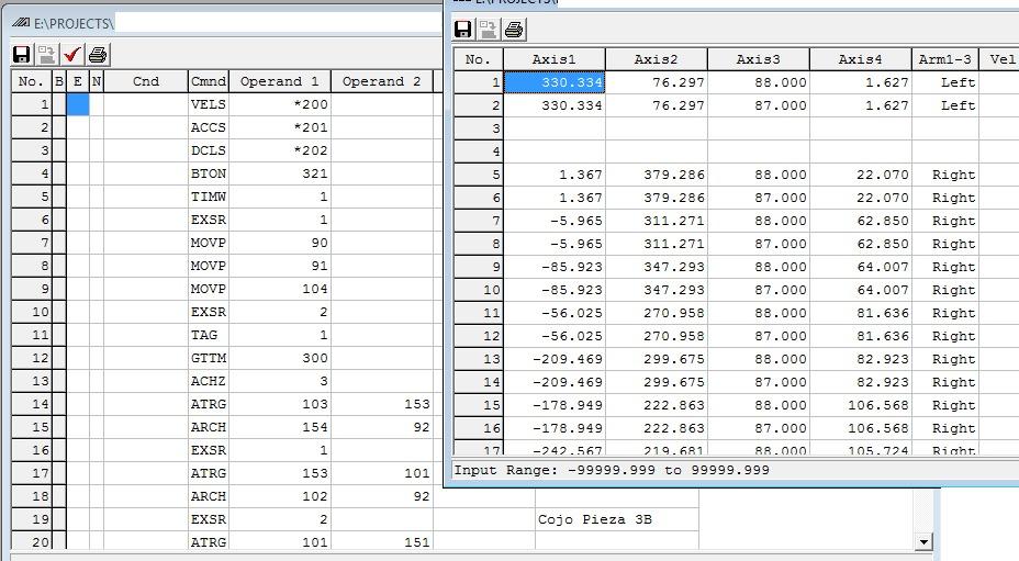 Software RCM para controladores modo posición IAI