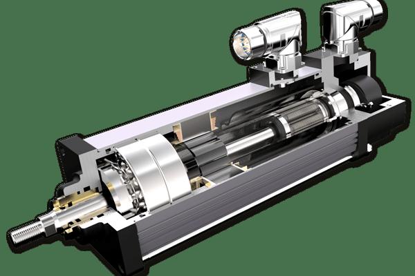 Componenetes del cilindro eléctrico Exlar