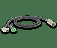 Cables entre motor y controlador