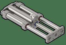 Módulos lineales de acero inoxidable