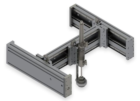 Robots lineales gantry XYZR LinMot
