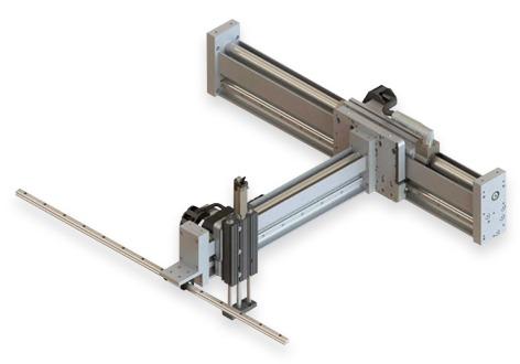 Robots lineales semigantry XYZ LinMot