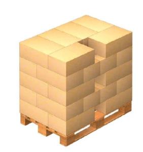 como se apilan los productos en paletizado