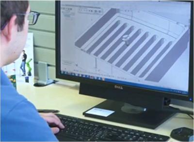 El departamento de ingeniería de Asyril ha analizado al detalle las particularidades de las piezas de Faurecia
