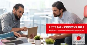 Let's Talk CODESYS 2021 con Larraioz Elektronika