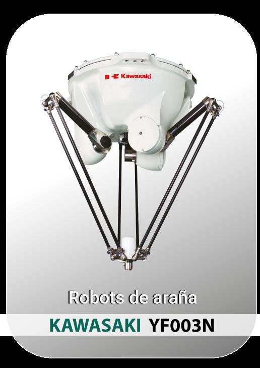 Robot ARAÑA KAWASAKI ROBOTICS