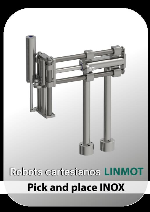 Robot LINMOT INOX PICK AND PLACE